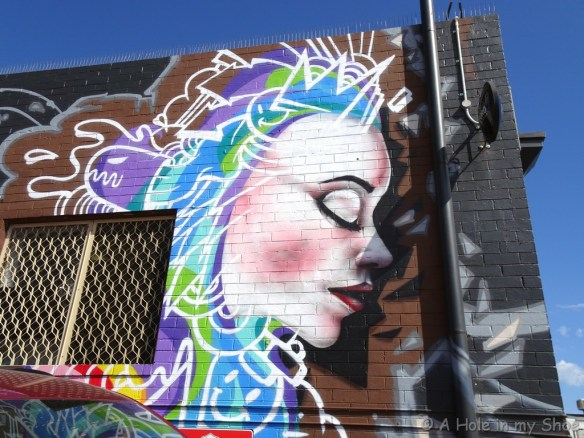 On the side of Rifos in Maylands, painted by Samuel Kim
