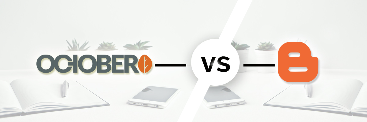 October vs Blogger-ahomtech.com