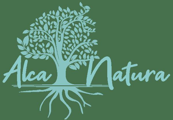 Logo AlcaNatura Huelva horizontal menu retina