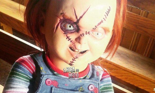 Divulgado novas fotos dos bastidores de 'Cult of Chucky'