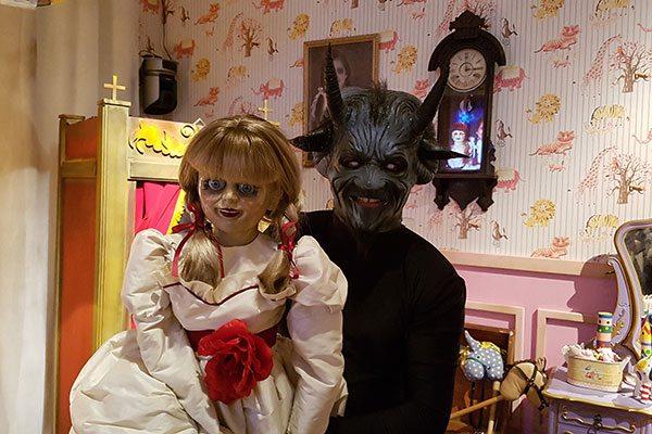 Annabelle | Programa Silvio Santos passará nova pegadinha com a boneca original do filme