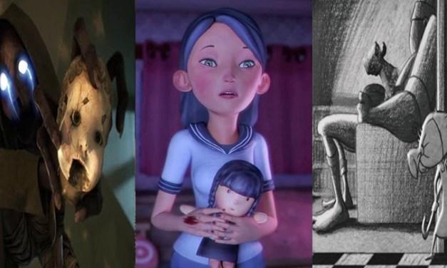 3 curtas de animação de TERROR que você precisa assistir