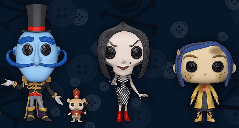 Empresa Funko lançará bonecos do desenho 'Coraline e o Mundo Secreto'