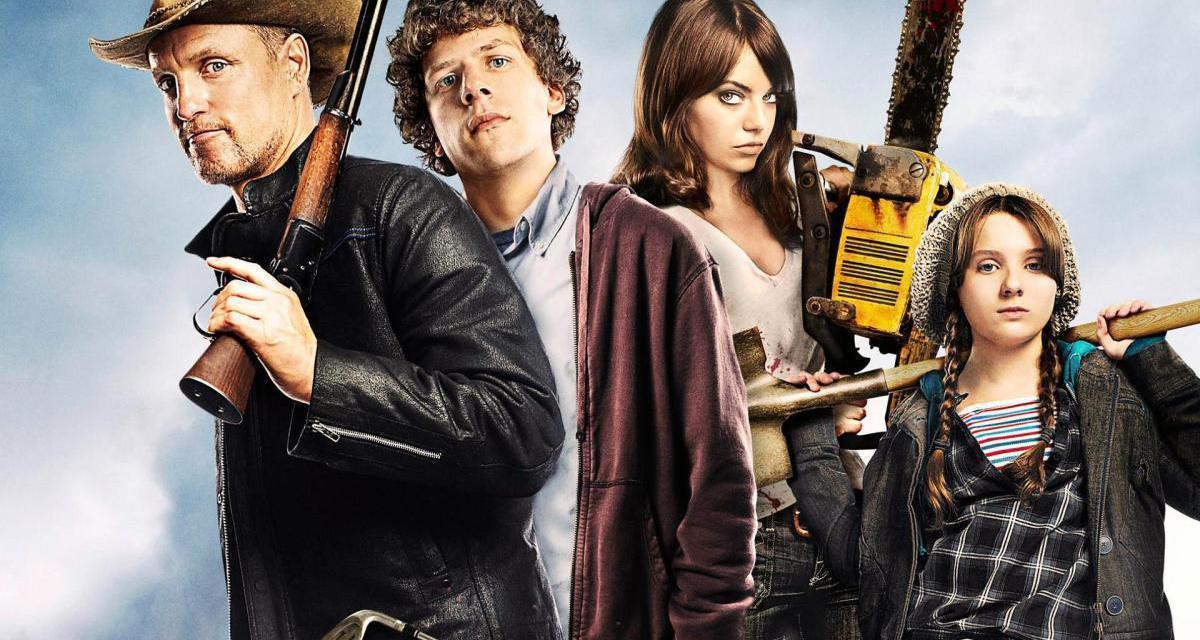 'Zumbilândia 2' Ganha 1º cartaz comparando a evolução dos personagens