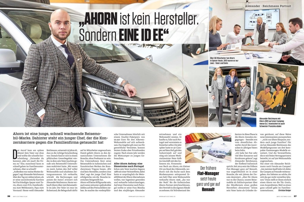 Zeitungsartikel Auto Zeitung