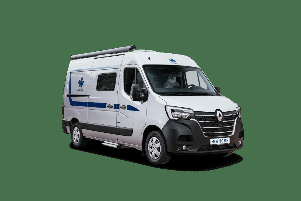Das Reisemobil von Ahorn Camp