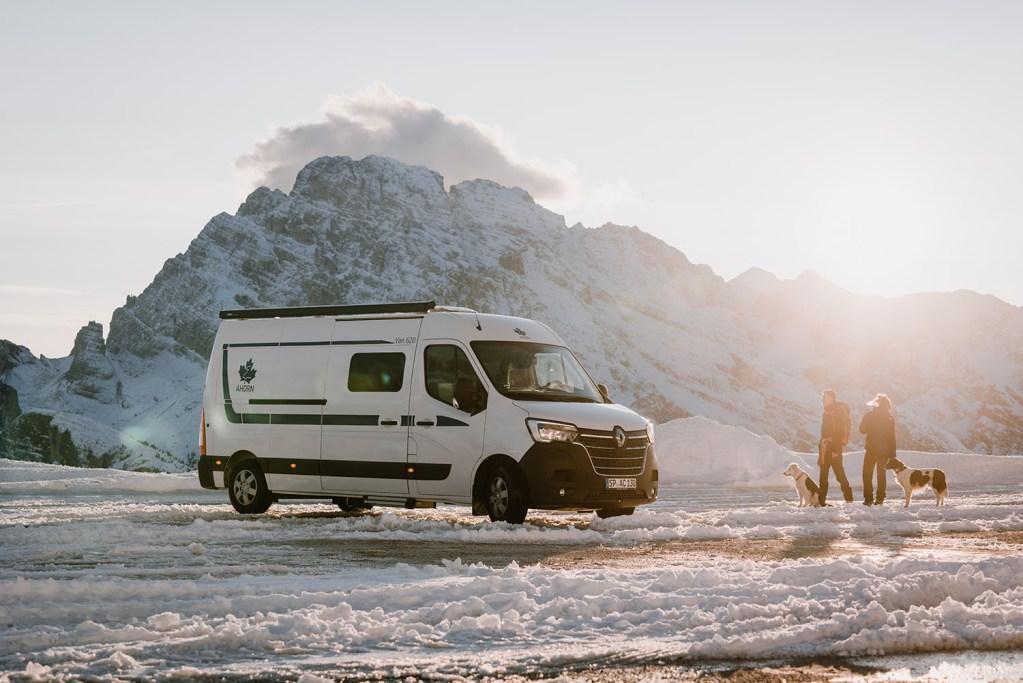 Wintercamping im Van