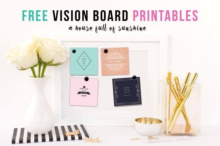 2018 vision board printables free maxwellsz
