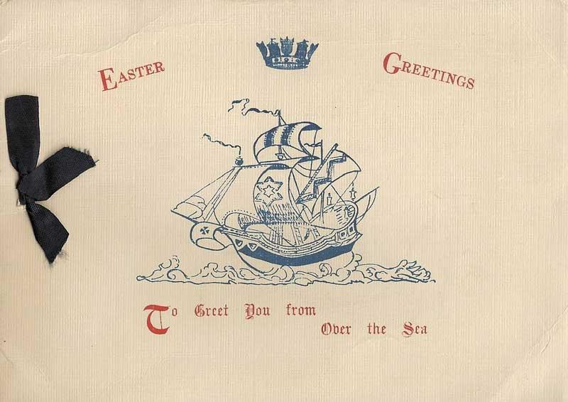 Ahoy Macs Web Log Images Easter Greeting Card HMS