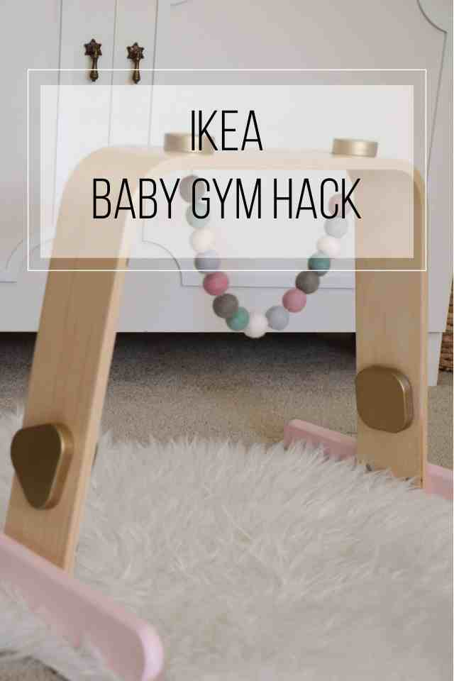 Ikea Baby Gym Hack|Ahrens at Home