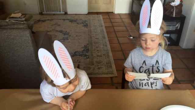 Bunny Bash Ahrens at Home