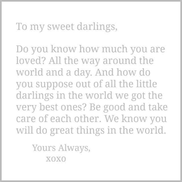 sweet darlings