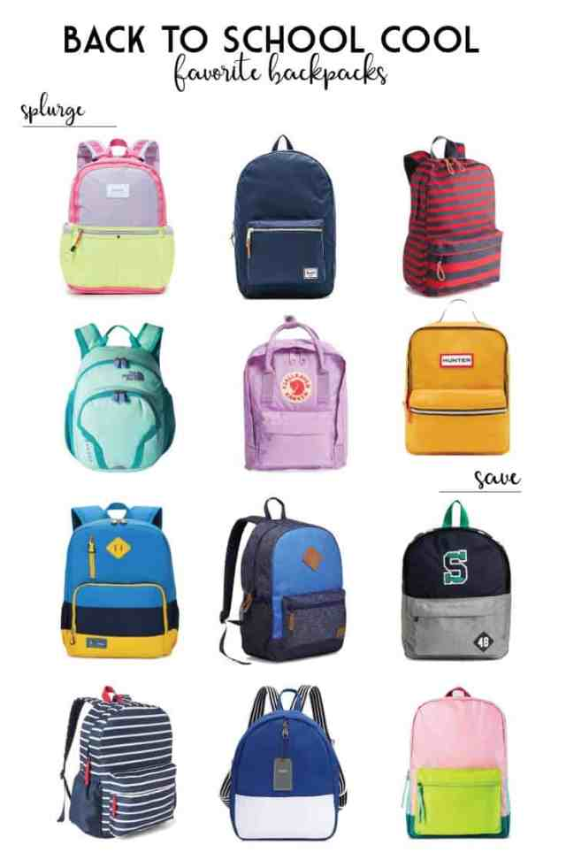 Favorite backpacks for kids|Ahrens at Home