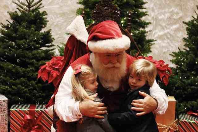 Santa at Huntington Gardens|Ahrens at Home