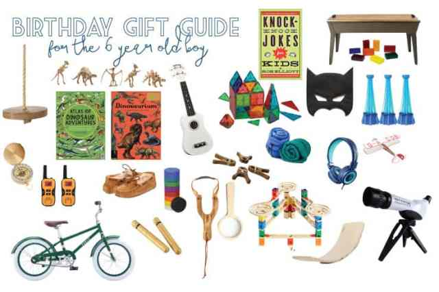 6 Year Old Boy Birthday Gift Ideas