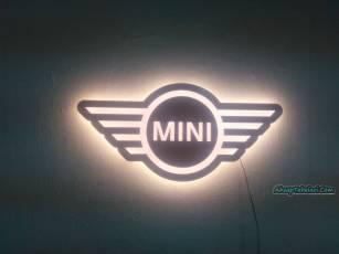 ışıklı araba tabela