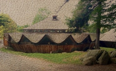 Nature_Landscape_Yurt_on_Leather
