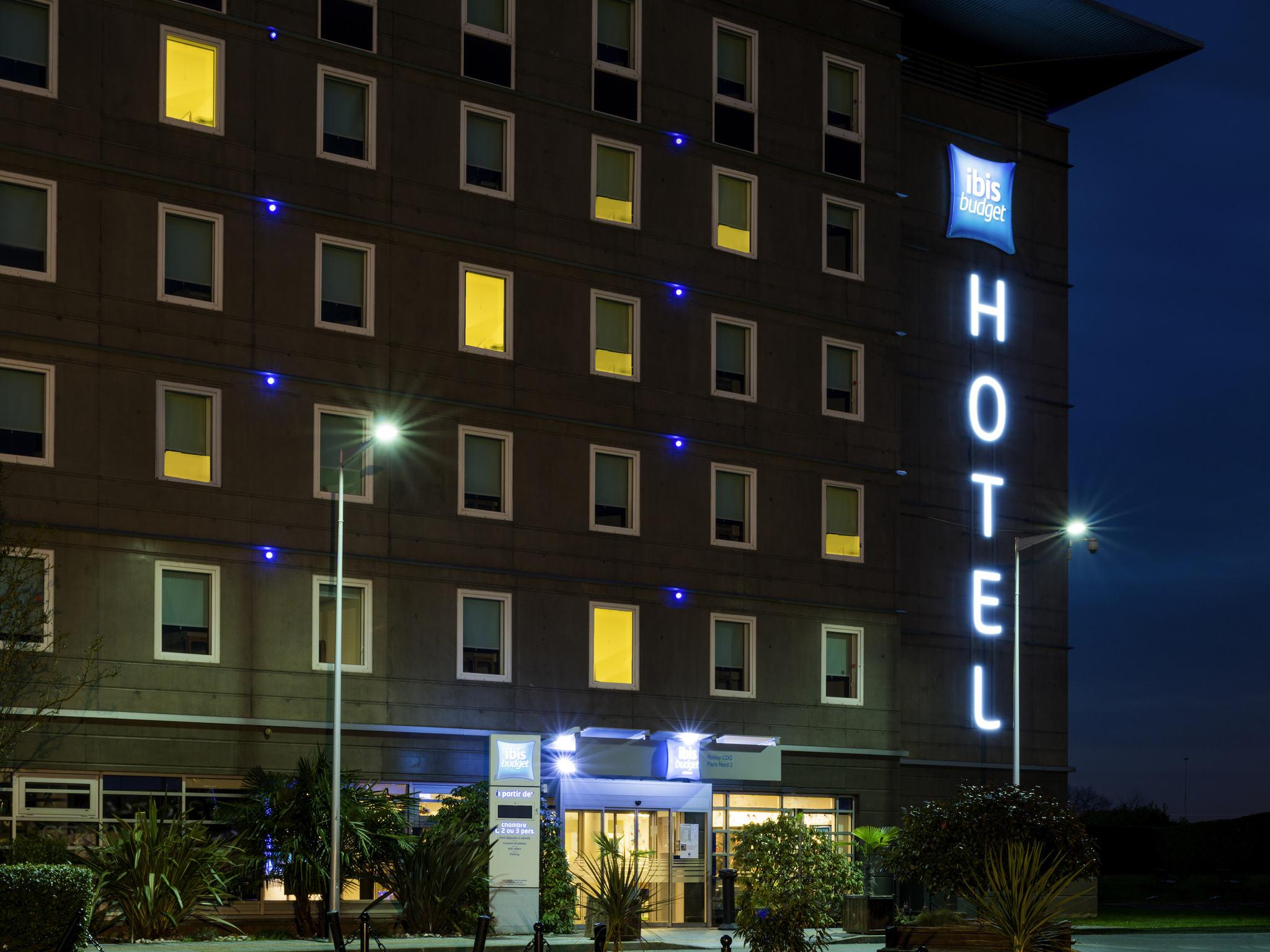 Hotel In Roissy Charles De Gaulle Ibis Budget Roissy Cdg