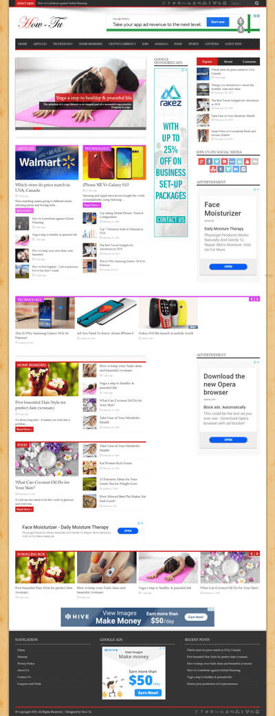 Web Developing and Design Client Project 1 preview
