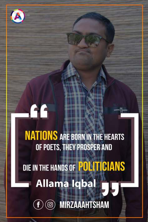 Nations are born in the hearts