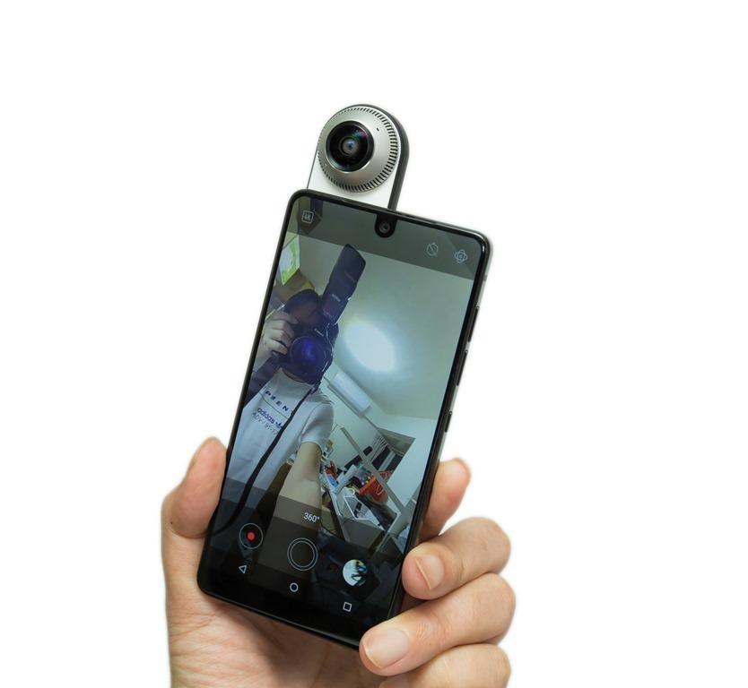 與眾不同最美旗艦!Android 之父推出的 Essential Phone PH-1 智慧手機與 360 相機配件 (Essential Phone PH-1 Unboxing review) @3C 達人廖阿輝