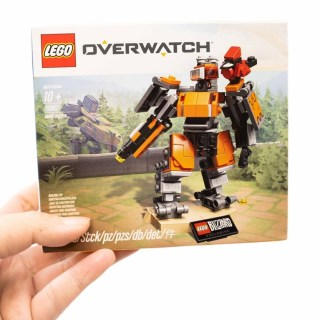 OverWatch 鬥陣特工 + LEGO 樂高!LEGO 75987 壁壘機兵入手開箱分享!(Blizzard 官網限定) @3C 達人廖阿輝