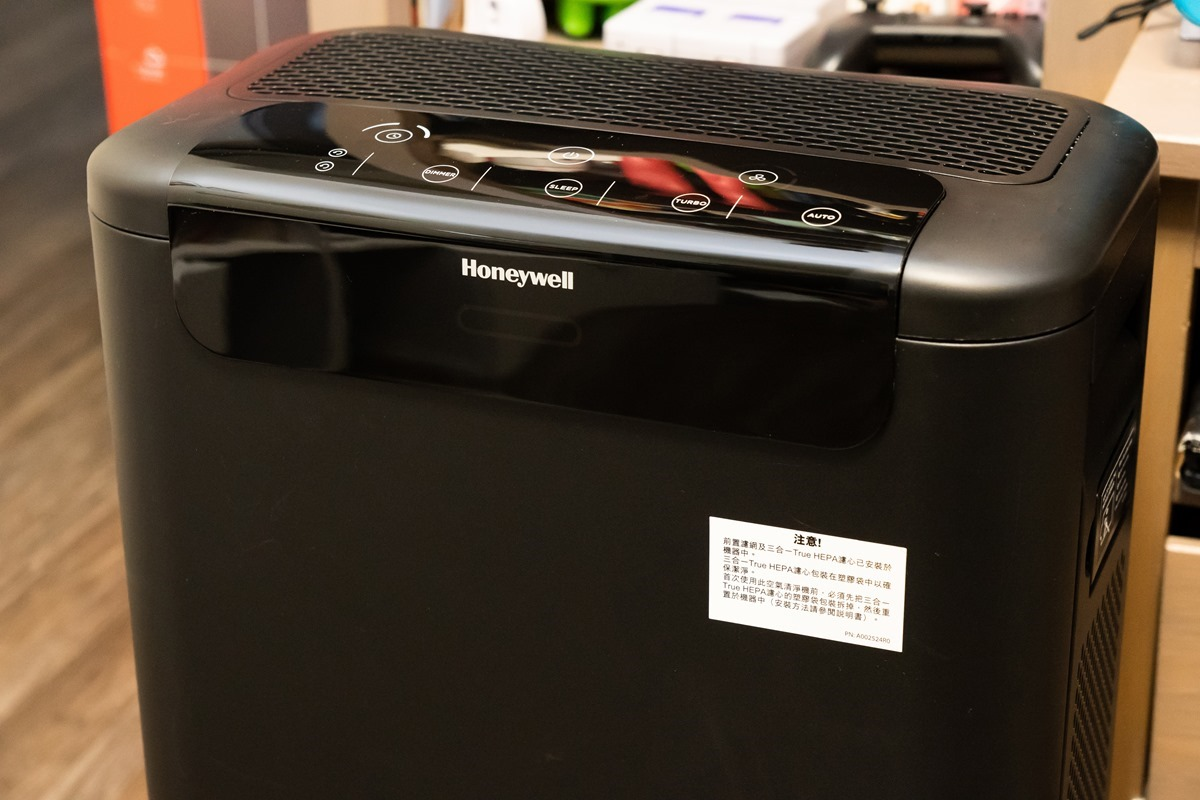 黑豹來襲! Honeywell 超智能抗菌空氣清淨機長效抑菌,時尚、省電、高效、極速超淨化,不必汎合金! @3C 達人廖阿輝