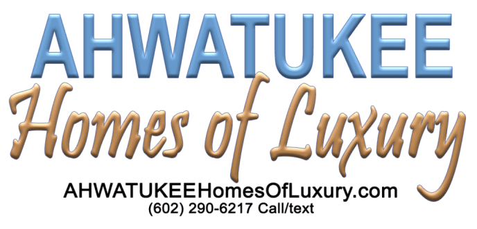 Ahwatukee Homes on hillside or mountainside lots