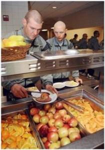 makanan sehat ala tentara