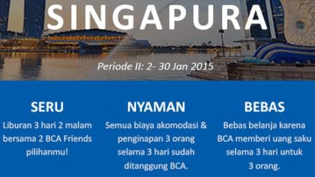 BCAFriends trip ke singapura