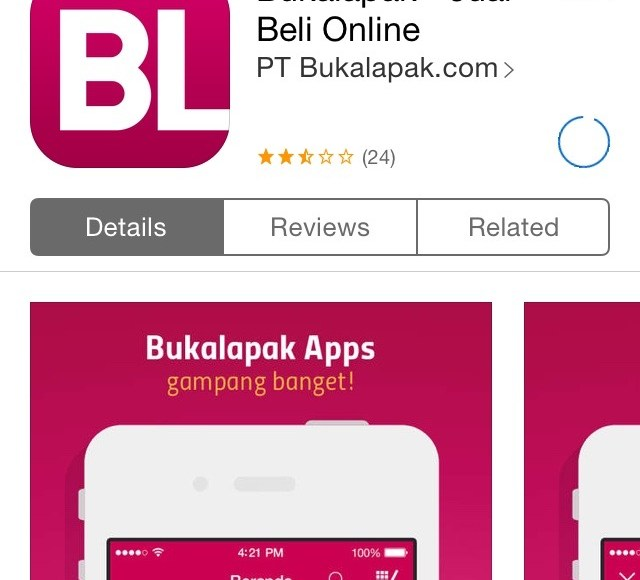 IMG_7244 Apps BukaLapak di App Store – Downloading
