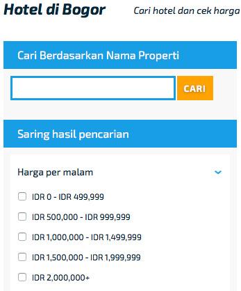 Booking Hotel Murah di Bogor