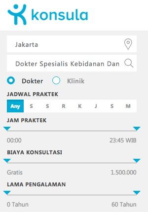 Daftar Dokter Spesialis Kebidanan Dan Kandungan di Jakarta