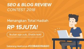 Banner Blog Contest SOSIAGO