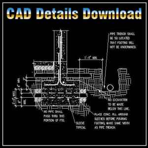Architecture Details Drawings in dwg files