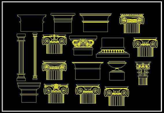 ★【European Classical elements Blocks】★