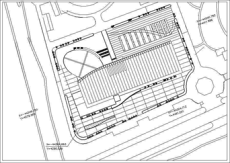 Stadium Cad Drawings 2