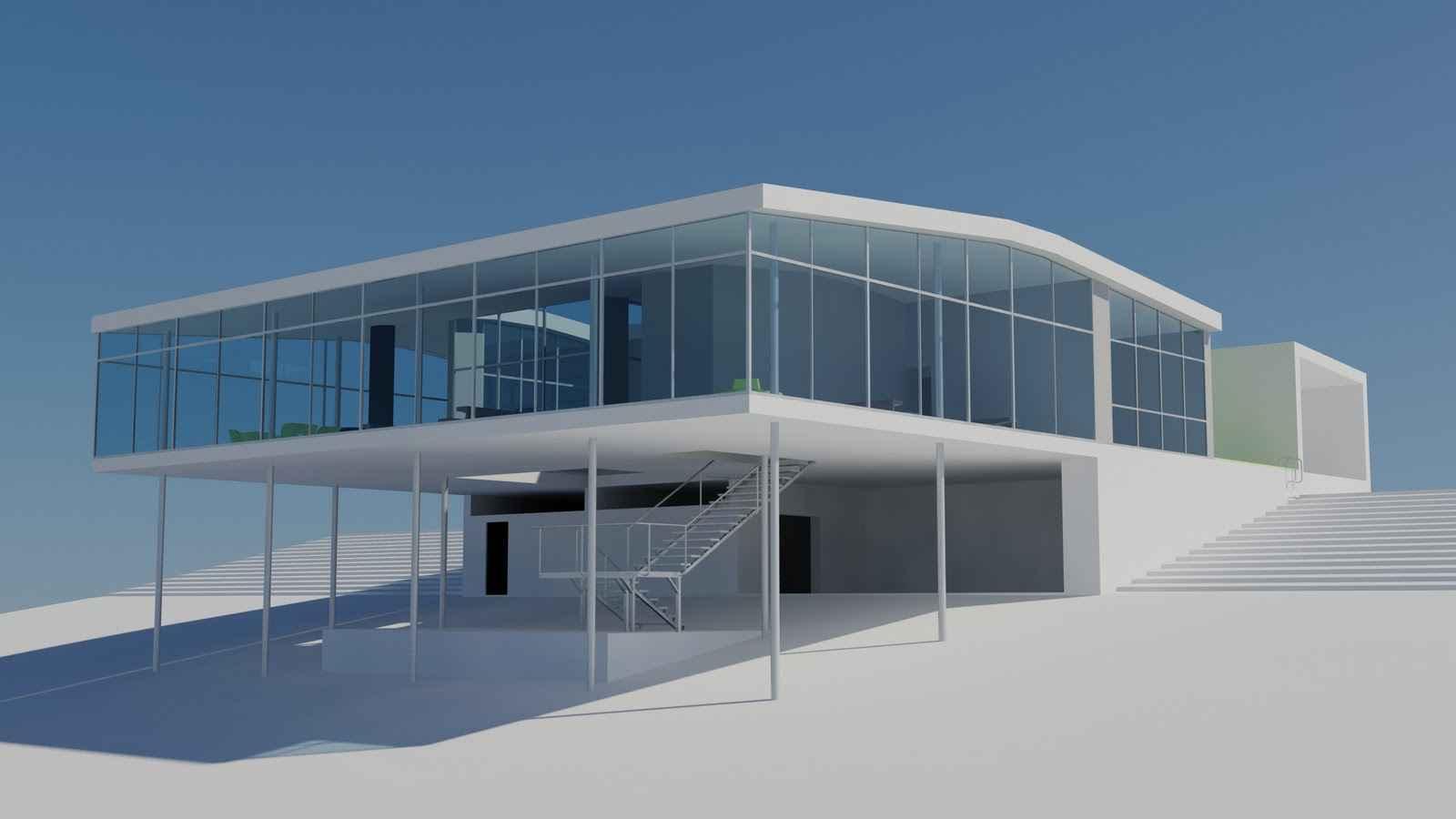 Casa de Vidrio – Lina Bo Bardi – Architectural Autocad Drawings ...