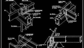 Free Steel Structure Details 1 – Architectural Autocad