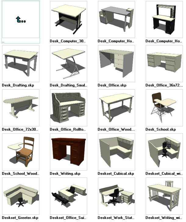 Sketchup furniture download