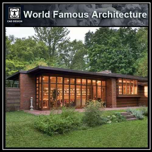 Herbert And Katherine Jacobs House Frank Lloyd Wright