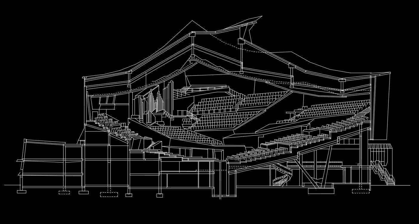 Hans Scharoun's Berliner Philharmonie
