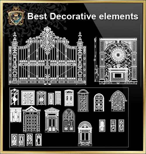 Over 500 Neoclassical Interiors Decor Decorative Elements Frame