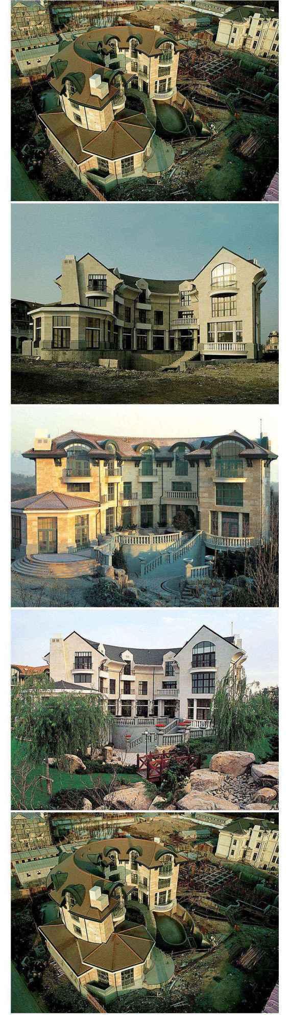 ★【Villa CAD Design,Details Project V.4-England Manor Style】Chateau,Manor,Mansion,Villa@Autocad Blocks,Drawings,CAD Details,Elevation