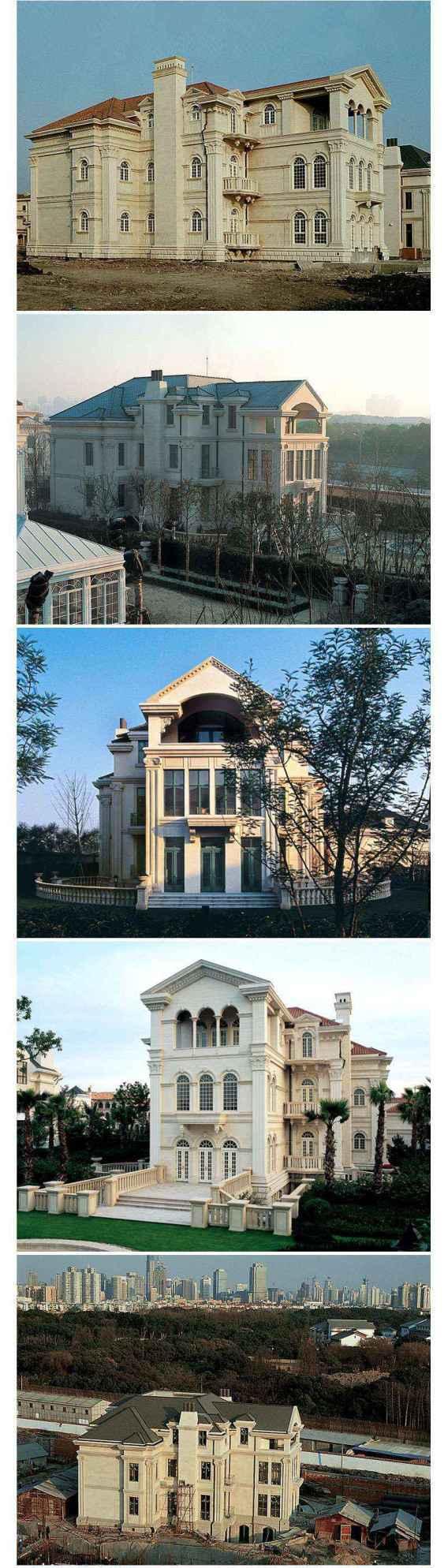 ★【Villa CAD Design,Details Project V.6-Italian Florentine Style】Chateau,Manor,Mansion,Villa@Autocad Blocks,Drawings,CAD Details,Elevation