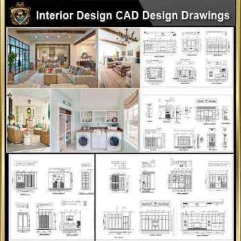 Interior Design CAD Design,Details,Elevation