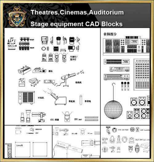 Architecture Details, Architecture drawings, Auditorium Design, Auditorium elevation design drawings, Auditorium Section, AuditoriumDetails, Autocad Blocks, Cinema Design, Cinema Details, Cinema elevation design drawings, Cinema Section, Decorative elements-Frame, home design, Interior Design CAD Collection, Landscape Architecture, Neoclassical Interiors Decor, Stage Equipment
