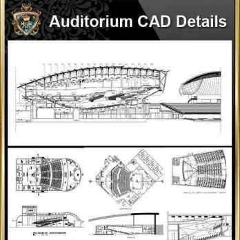 Architecture Details, Architecture drawings, Auditorium Design, Auditorium elevation design drawings, Auditorium Section, AuditoriumDetails, Autocad Blocks, Decorative elements-Frame, home design, Interior Design CAD Collection, Landscape Architecture, Neoclassical Interiors Decor