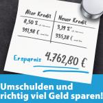 -Kredit umschulden-