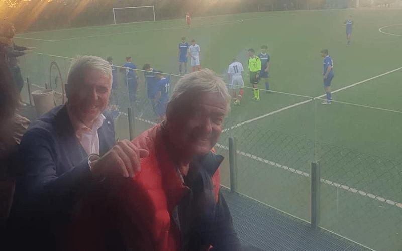 Nazzareno Ceccarelli e l'arbitro OTS